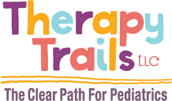 Therapy Trails: The Clear Path for Pediatrics Logo